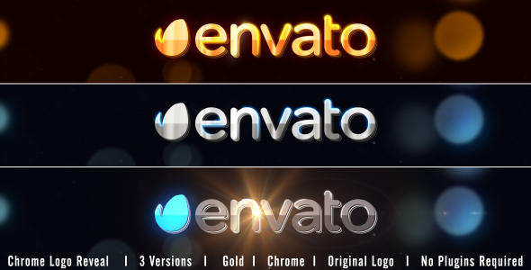 VIDEOHIVE CHROME LOGO REVEAL