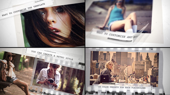 VIDEOHIVE GRUNGE MOVIE INTRO