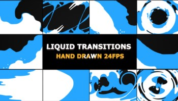 VIDEOHIVE LIQUID TRANSITIONS PACK - Free After Effects