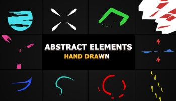 Motion Array - Flash FX Lightning Elements After Effects Templates