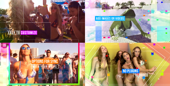 VIDEOHIVE CRAZY PARTY