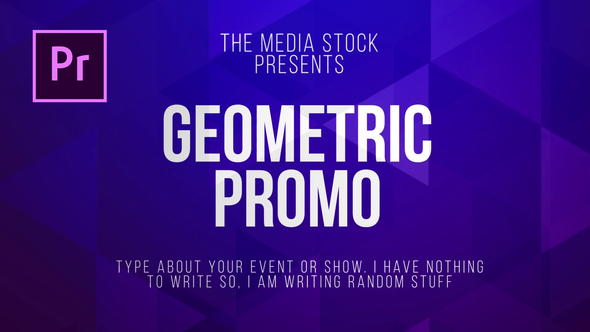 VIDEOHIVE GEOMETRIC TITLE & LOWER THIRDS – PREMIERE PRO