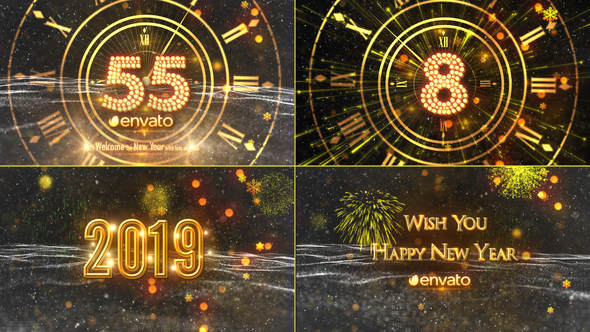 VIDEOHIVE NEW YEAR COUNTDOWN 2019 21080880 - Free After ...