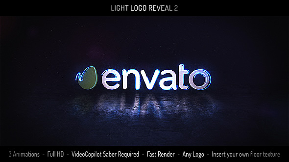 VIDEOHIVE LIGHT LOGO REVEAL 2