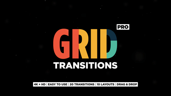 VIDEOHIVE GRID TRANSITIONS