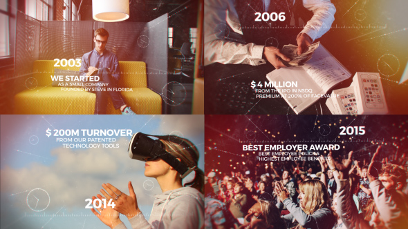 VIDEOHIVE CINEMATIC TIMELINE SLIDESHOW