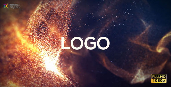 VIDEOHIVE MACRO PARTICLES LOGO INTRO