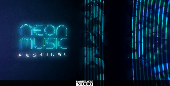 VIDEOHIVE NEON MUSIC EVENT