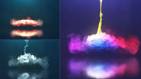 VIDEOHIVE SPIRAL SMOKE REVEAL