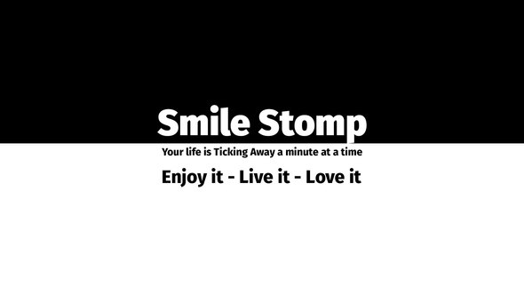 VIDEOHIVE SMILE STOMP