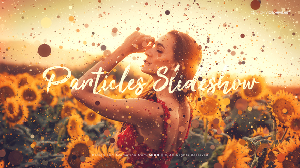 VIDEOHIVE PARTICLES SLIDESHOW
