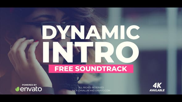 VIDEOHIVE DYNAMIC INTRO 21369285