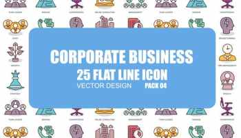 VIDEOHIVE CREATIVE PROCESS - FLAT ANIMATION ICONS - Free