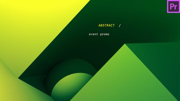 VIDEOHIVE GRADIENT - ABSTRACT EVENT PROMO | PREMIERE PRO