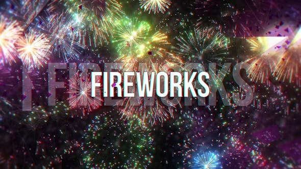 VIDEOHIVE FIREWORKS 23811821