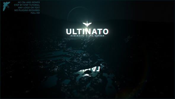 VIDEOHIVE LOGO IN THE DARK