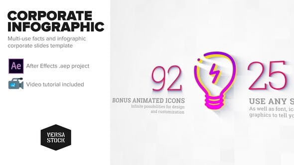 VIDEOHIVE CORPORATE INFOGRAPHIC SLIDES 23645881