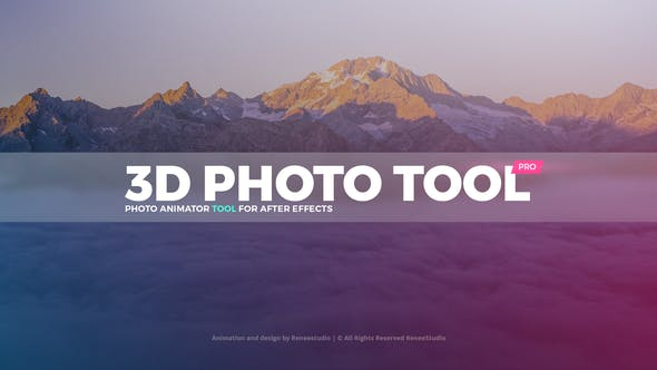 3D PHOTO TOOL – VIDEOHIVE