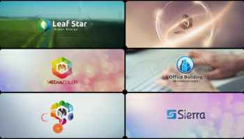 VIDEOHIVE CORPORATE LOGO V20 TECHNOLOGY COMPANY IDENT - Free After