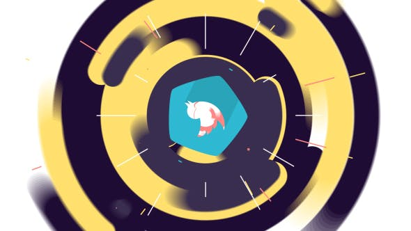 VIDEOHIVE FLAT COLORFUL LOGO ANIMATION