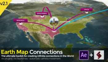 3D MAP GENERATOR - FREE AFTER EFFECTS PROJECT (VIDEOHIVE