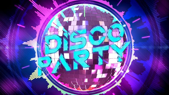videohive disco party opener free after effects template. Black Bedroom Furniture Sets. Home Design Ideas
