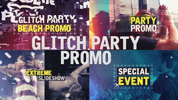 VIDEOHIVE GLITCH PARTY PROMO