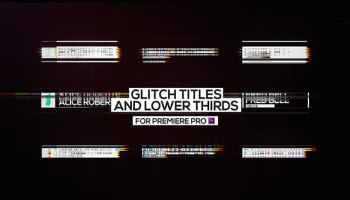 VIDEOHIVE GLITCH PHOTO OPENER - PREMIERE PRO - Free After