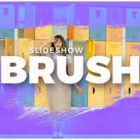 VIDEOHIVE BRUSH SLIDESHOW