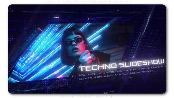 VIDEOHIVE ANGLE VISION OF TECHNOLOGY SLIDESHOW