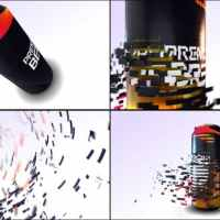 VIDEOHIVE E3D BEER CAN COMMERCIAL
