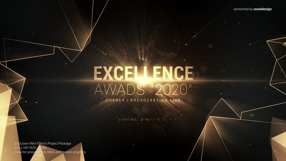 VIDEOHIVE EXCELLENCE AWARDS OPENER