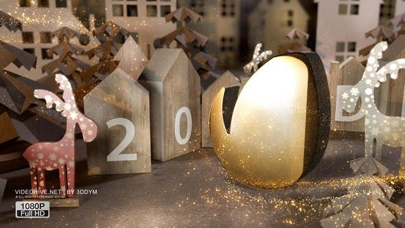 VIDEOHIVE CHRISTMAS GREETING 25048782
