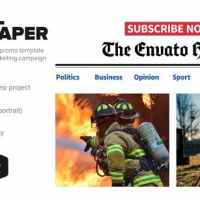 VIDEOHIVE ONLINE NEWSPAPER PROMOTION