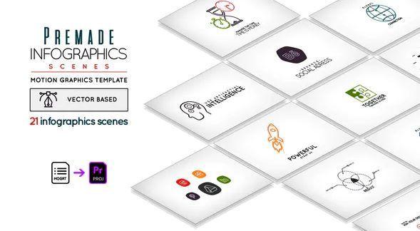 Videohive Premade Infographic Scenes