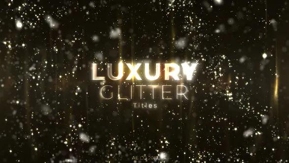 Luxury Glitter Titles