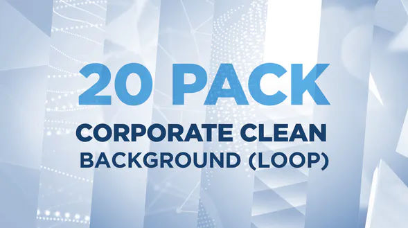 20 PACK Corporate Clean Background