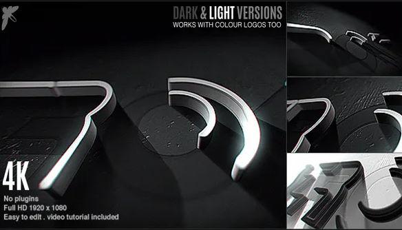 Videohive 3D Stroke Logo