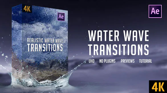 REALISTIC WATER WAVE TRANSITIONS
