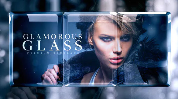 GLAMOROUS GLASS FASHION