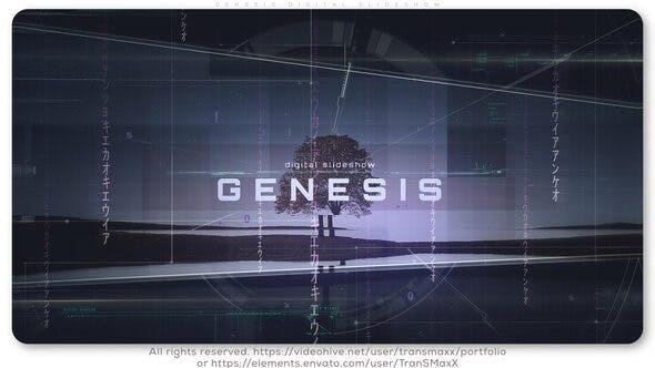 Genesis Digital Slideshow