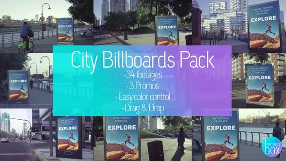Billboards City Mockup Pack