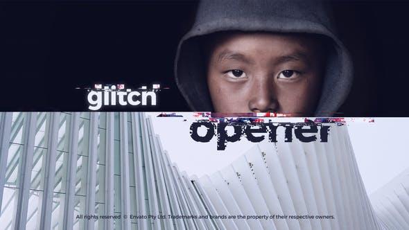 Glitch Intro – Glitch Opener
