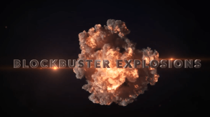 20 Pre-made Blockbuster Explosions