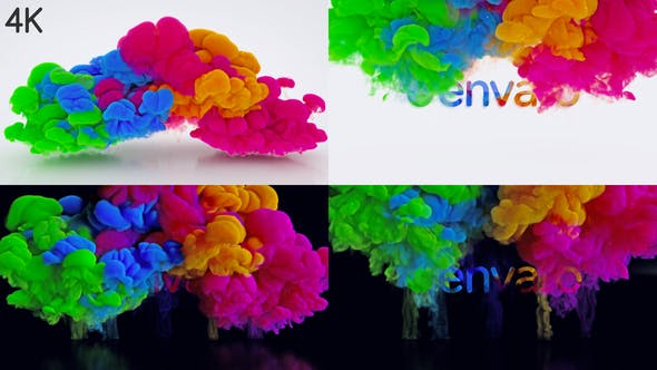 Color Blast Logo Intro