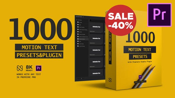 Text Presets Premiere Studio Plugin