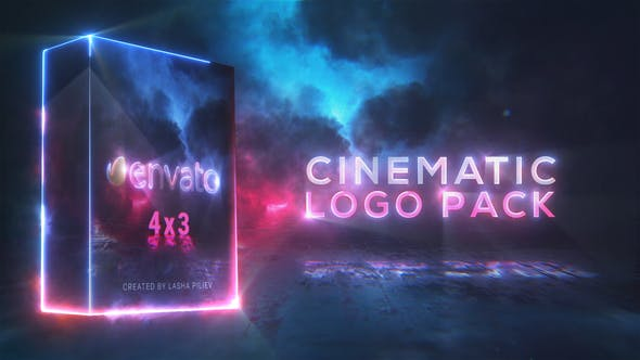 Cinematic Saber Logo Pack