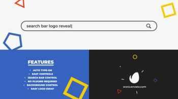 Search Bar Logo Reveal