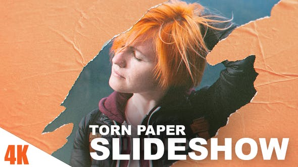 Torn Paper Slideshow