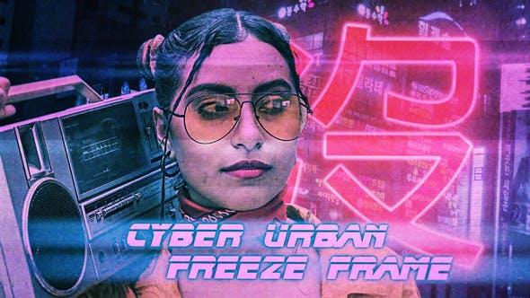 Cyber Urban Freeze Frame Opener